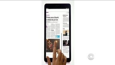 Diário Catarinense ganha nova plataforma digital - Diário Catarinense ganha nova plataforma digital