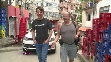 Conheça estrangeiros que optaram pelo intercâmbio no Brasil - Felipe Suhre acompanha a rotina de um alemão no Rio de Janeiro
