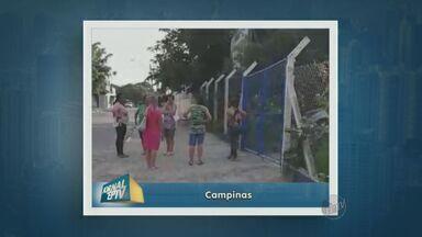Centro de Saúde amanhece fechado em Campinas - Uma paciente é suspeita de agredir a coordenadora da unidade e os funcionários suspenderam o atendimento.