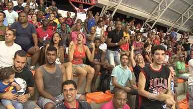 Vitória vence a terceira seguida pelo Novo Basquete Brasil - Rubro-negro enfrentou o Macaé em Salvador.