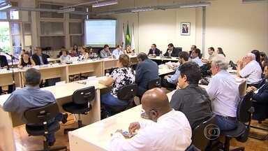Conselho de Política Ambiental de Minas Gerais faz 1ª reunião após rompimento de barragem - Vários órgãos se reuniram para discutir ações de reparos aos danos ambientais.