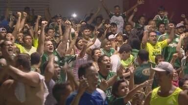 Em Manaus, torcida de Palmeiras e Santos se reúnem para acompanhar final da Copa do Brasil - Torcedores acompanharam pela televisão a conquista do título palmeirense.