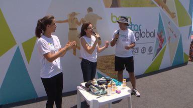'Bem Estar Global' é realizado no Imbuí, em Salvador - A ação foi transmitida ao vivo para o programa da Rede Globo. Teve participação do apresentador Fernando Rocha, serviços gratuitos ao público e ainda música com Pablo e Lucas e Orelha.