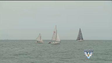 43ª Regata de Santos é realizada neste fim de semana - Neste sábado (5) tem regata na orla de Santos.