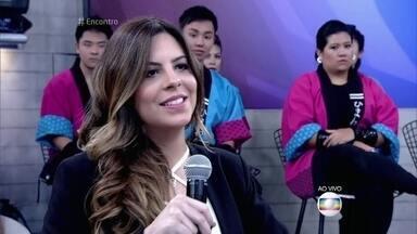 Grávida, filha de Luigi Baricelli revela que se preocupa com o zika vírus - Rubia está grávida de uma menina e diz que sua médica a orientou a usar repelentes para evitar picadas de mosquito
