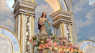 Feriado em Belo Horizonte celebra Dia da Imaculada Conceição de Nossa Senhora - Santa de grande devoção entre os fiéis de Belo Horizonte tem programação especial de missas e celebrações.