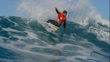 Brasileiros contam os dias para ultima etapa do Mundial de Surfe, no Hawai - Brasileiros contam os dias para ultima etapa do Mundial de Surfe, no Hawai