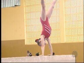 Ginástica artística se destaca nos Jogos Abertos - Evento esportivo ocorre em Barretos (SP).