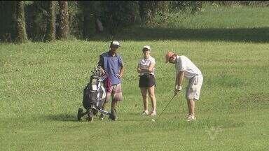 Golfe Clube de São Vicente comemora 100 anos - Clube recebeu torneio para comemorar o centenário.