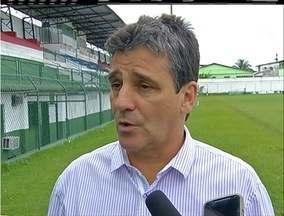 Cabofriense apresenta novo técnico, Eduardo Húngaro, para temporada 2016 - Apresentação aconteceu nesta segunda-feira (7).