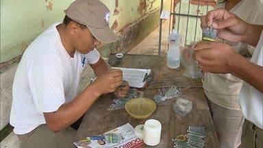 Prefeitura de Alfenas (MG) espalha caçambas para recolher entulhos e combater a dengue - Prefeitura de Alfenas (MG) espalha caçambas para recolher entulhos e combater a dengue