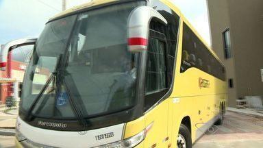 Rodoviária de Guarapari, ES, começa a funcionar após quatro meses de inauguração - No local funciona apenas um embarque e desembarque de passageiros de ônibus interestaduais.