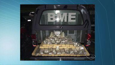 Homens são presos com 72 kg de maconha na Serra, ES - Um carro também foi apreendido durante a operação.