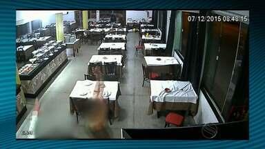 Homens invadem restaurante de Lagarto e anunciam assalto - Homens invadem restaurante de Lagarto e anunciam assalto