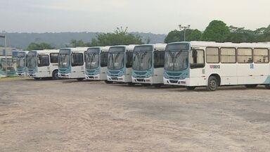 Empresa tem 100% da frota afetada em Manaus no 2º dia de paralisação - Segundo empresários, falta de repasse acarretou em atraso nos salários.