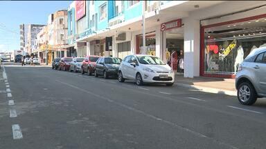 Duas lojas do centro de Campina Grande foram assaltadas - População pede mais segurança.