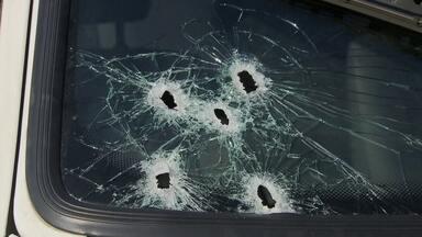 Tiroteio assusta moradores do Gama - A polícia diz que foi uma briga de gangues. Um morador que fugia do tiroteio acabou sendo atropelado.