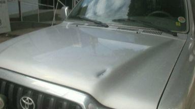 Policial reage a assalto e atira contra suspeitos em Mimoso do Sul, no ES - Três homens encapuzados saíram do mato e surpreenderam o policial.