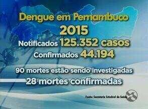 Confira os números de notificação de doenças transmitidas pelo Aedes aegypti - Dengue, zika e chikungunya têm deixado muitas pessoas doentes em Pernambuco.