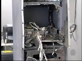 Polícia Civil investiga explosão de caixa eletrônico em Narandiba - Tentativa de furto aconteceu nesta quarta-feira (9).