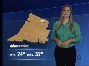 Débora Andreatto adianta a previsão do tempo para esta sexta-feira - Saiba como ficam as temperaturas no Oeste Paulista.