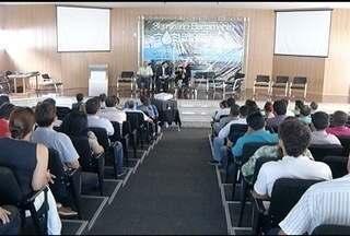 Seminário discute novo sistema de barramentos para perenização de rios no Norte de Minas - Evento foi realizado em Montes Claros.