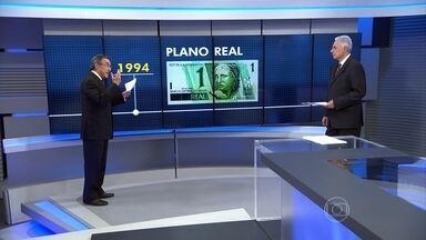 Entenda a situação econômica do Brasil do Plano Real aos dias atuais - O comentarista Carlos Alberto Sardenberg analisa a economia brasileira desde o Plano Real, em 1994, até a perda do grau de investimento agora em 2015.