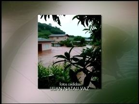 Gramado dos Loureiros, RS, decreta situação de emergência - A chuva dos últimos dias causou estragos.