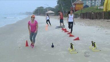 'Bom Dia na Praia' promove aulão funcional de hiit - 'Bom Dia na Praia' promove aulão funcional de hiit