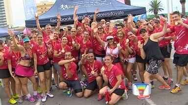 Atletas se preparam para a corrida de São Silvestre - Prova é disputada no último dia do ano.