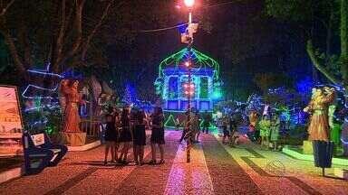 Cidade de Itabaiana se ilumina para receber o Natal - Cidade de Itabaiana se ilumina para receber o Natal.