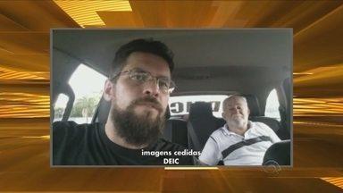 Renato Igor comenta o fim do sequestro em São João Batista - undefined