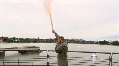 Saiba quais cuidados tomar na hora de usar fogos de artifício - Capitão do Corpo de Bombeiros faz recomendações importantes; veja a entrevista.