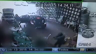 Assaltantes invadem festa em loja de pneus no Recife e causam prejuízo de R$ 30 mil - Empresário prestou queixa à polícia nesta segunda (28).