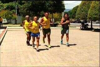 Confira as notícias do esporte na região Cariri - Atletas da região treinam para a Corrida São Silvestre.