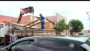 Problemas com abastecimento de energia causam transtornos e prejuízos no Piauí - Problemas com abastecimento de energia se agravam no período de fim do ano e Gerente de Operações da Eletrobras fala sobre situação da rede elétrica