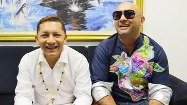 Artistas falam que música marca chegada do fim de ano para eles - Cantores participaram do 'Paneiro' especial de Ano Novo.
