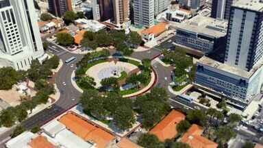 Praça Portugal de Fortaleza deve ser reestruturada a partir de janeiro - Projeto inicial era a demolição da praça.