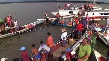 Festa celebra a abertura da pesca do mapará, peixe apreciado no PA - O evento grandioso envolve toda a comunidade ribeirinha.