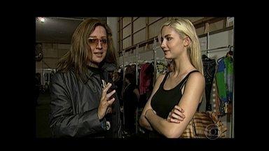 Serginho Groisman mostra entrevista de Ana Claudia Michels com Betty Lado, em 2001 - Top explica que era tímida demais para se achar sexy na época