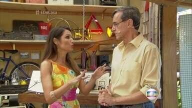 Especialista ensina como socorrer uma pessoa que está levando um choque elétrico - Sebastião Costa também dá dicas para evitar choques elétricos dentro de casa