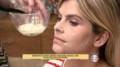 Dermatologista ensina receitas caseiras para cuidar da pele - Mel, mamão e açúcar mascavo são alguns dos ingredientes usados pela médica