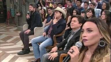 Selton Mello e Suzana Pires dublam cena de 'Que Rei Sou Eu' - Atores divertem o público com dublagem