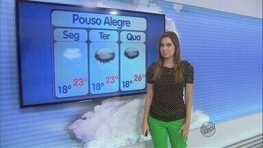 Confira a previsão do tempo para esta segunda-feira (11) no Sul de Minas - Confira a previsão do tempo para esta segunda-feira (11) no Sul de Minas