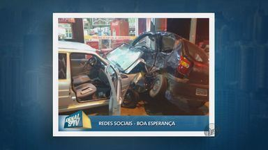 Mulher fica gravemente ferida após descer do carro e ser atropelada em Boa Esperança (MG) - Mulher fica gravemente ferida após descer do carro e ser atropelada em Boa Esperança (MG)