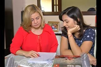 Estuddante paraense conseguiu tirar a nota máxima na redação do Enem. - Júlia Cunha tirou nota 1000 no exame nacional.