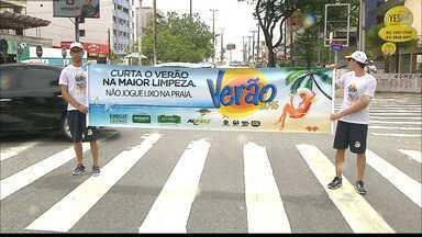 Curta o Verão na Maior Limpeza em João Pessoa - Rede Paraíba de Comunicação promove campanha para estimular o cuidado com a cidade.