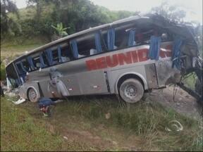 Acidente com ônibus na serra catarinense completa um ano - Mais de 30 passageiros ficaram feridos