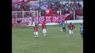 Pela Copa Santiago de Futebol teve Grenal - O campeonato envolve profissionais da categoria de base do país