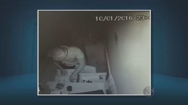 Comerciantes de Vinhedo afirmam ter prejuízo após furtos frequentes - Imagens de segurança gravaram alguns dos furtos em lojas do município.